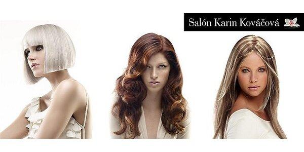 Ošetrenie vlasov, melír alebo keratínová farba