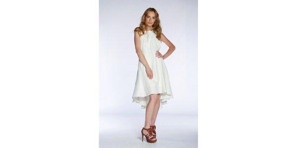 Dámske snehovo biele šaty Gene