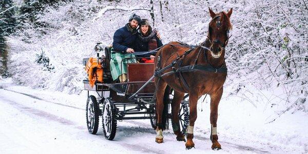 Romantická jazda kočom či škola jazdenia na koni