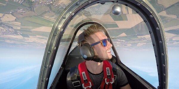 Adrenalínové akrobatické lety lietadlom
