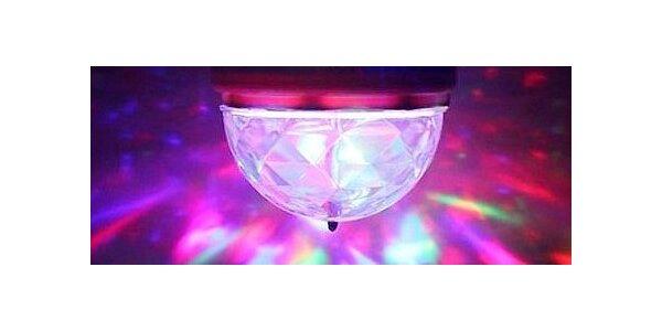 Rotujúca DISKO LED žiarovka
