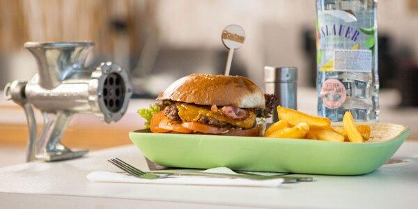 Domáci hovädzí burger u Starého mäsiara