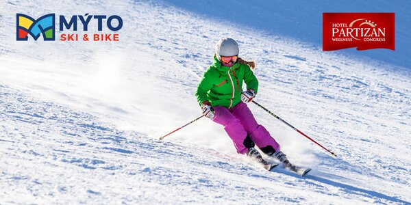 Skipasy do MÝTO SKI & BIKE CENTRUM a vstupy do Nature Wellness Center hotela…
