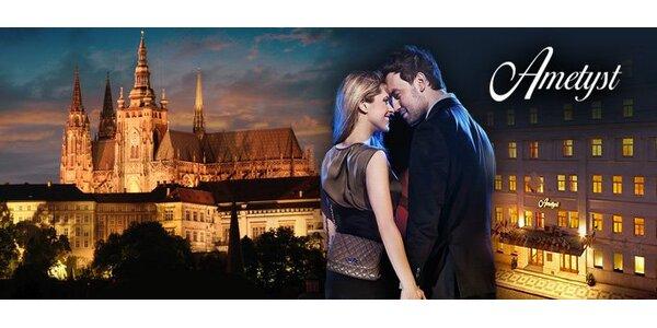 119 eur za romantický trojdňový pobyt vo dvojici v stovežatej Prahe v 4* hoteli…