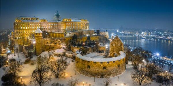 Oddych pre dvoch v historickom centre Budapešti