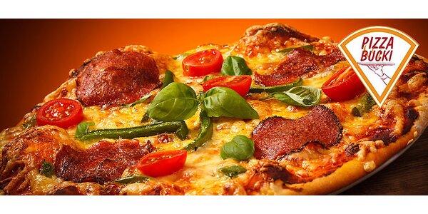 2 x Pizza Bucki aj s donáškou