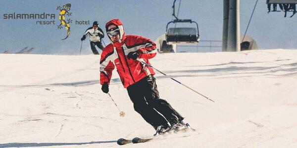 4-hodinový skipas do lyžiarskeho strediska SALAMANDRA RESORT pre deti i dospelých!