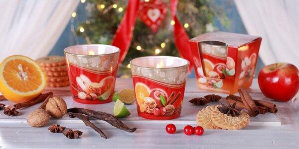 Zimné balenie sviečok s neodolateľnými vôňami