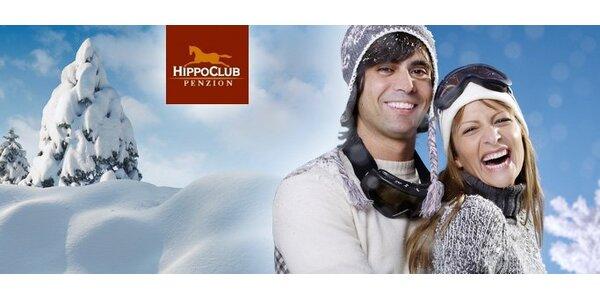59 eur za 3-dňový pobyt pre DVOCH v penzióne HippoClub na Liptove