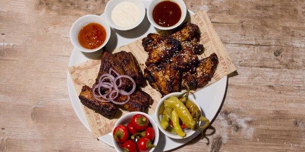 Originálne BBQ krídelká & rebierka plné chutí