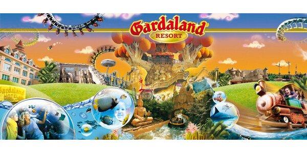 Víkendový zájazd do zábavného parku Gardaland