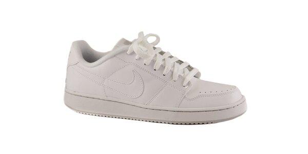 Dámske biele kožené tenisky Nike