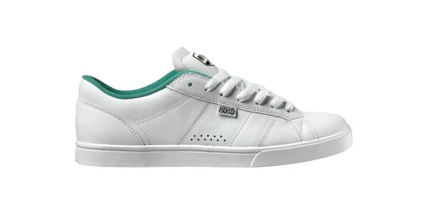 Pánske biele kožené tenisky DVS