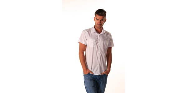 Pánska biela košeľa Celop