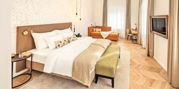Romantika v krásnom hoteli v centre Krumlova