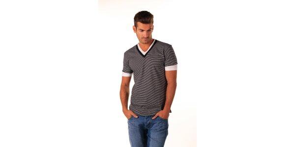 Pánske bavlnené námornické tričko Celop