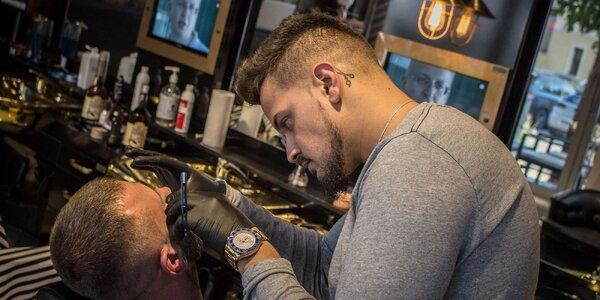 Strih, holenie i čistenie pleti u skúsených barberov