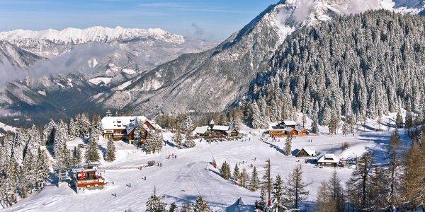 Pobyt v slovinských Alpách s polpenziou a skipasom