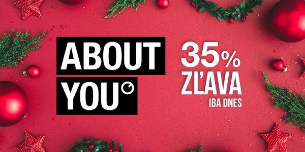 35% zľava do módneho e-shopu About You