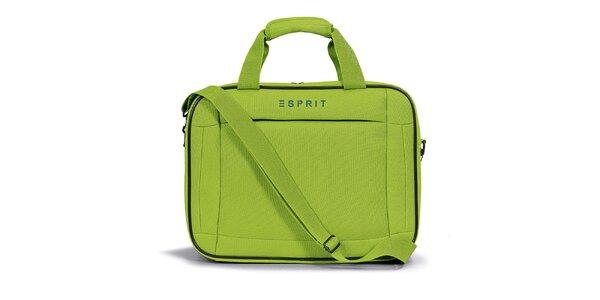 Dámska zelená taštička do lietadla Esprit