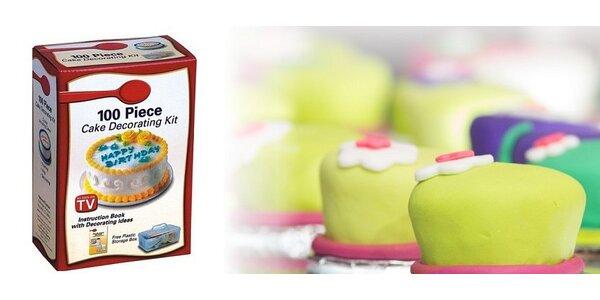 Túžite tvoriť ako profesionálny cukrár? ...sada na zdobenie tort je tu práve…
