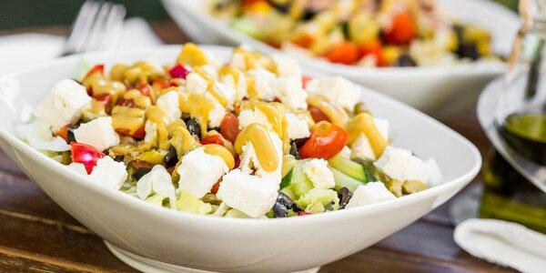 Zeleninové alebo cestovinové šaláty