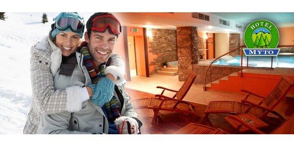 115 eur za 3-dňový pobyt pre 2 osoby v srdci Nízkych Tatier v Hoteli MÝTO