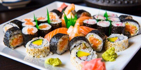 "Sushi bar Kikaku - výborné ""take away"" sushi menu"