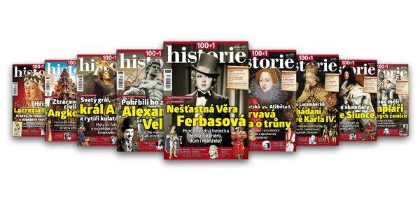 Časopis 100+1 Historie, kompletný ročník 2019