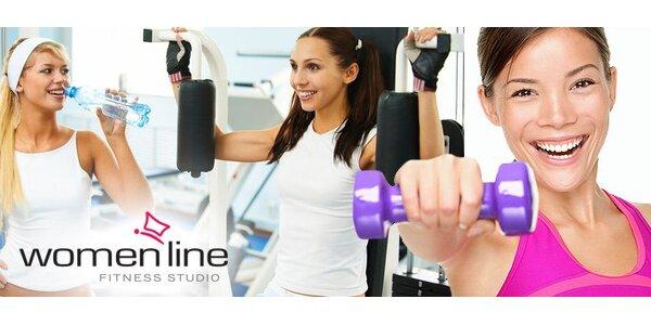 9 eur za neobmedzený vstup na dva týždne do fitness pre ženy WOMENLINE