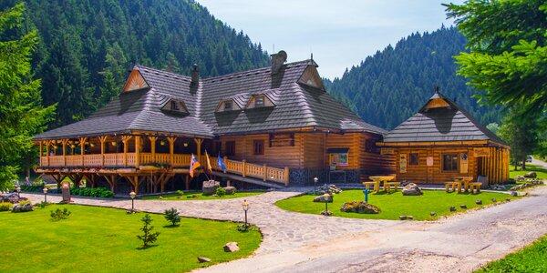 Vychýrená koliba v nádhernej Čutkovskej doline