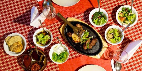 Degustačné menu gruzínskej kuchyne