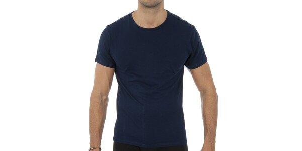 Pánske tmavo modré tričko Ralph Lauren