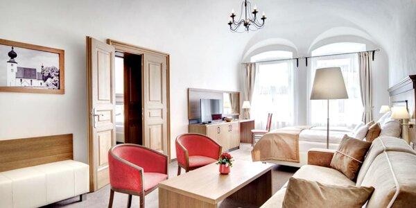 Nadštandardné ubytovanie v penzióne v historickom centre Levoče