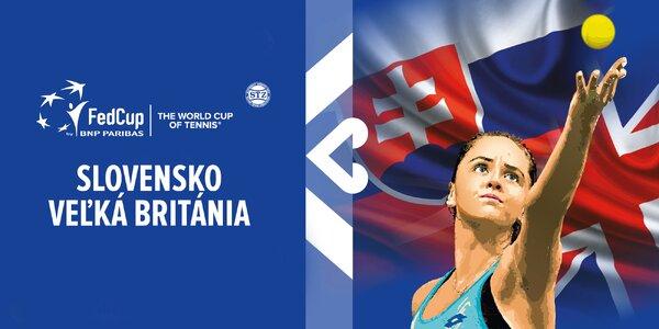 Fed Cup 2020: SLOVENSKO vs. VEĽKÁ BRITÁNIA