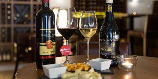 Degustácia exluzívnych vín s výkladom a občerstvením