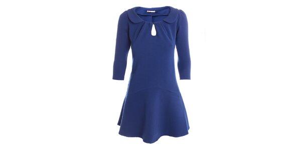 Dámské indigově modré retro šaty 2two
