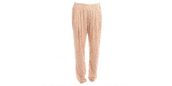 Dámske voľné nohavice so vzorom 2two