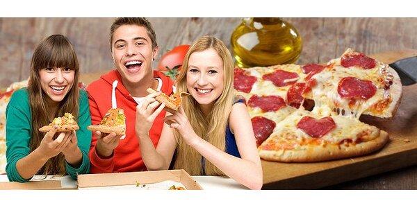 4,50 eur za pizzu veľkosti XXL