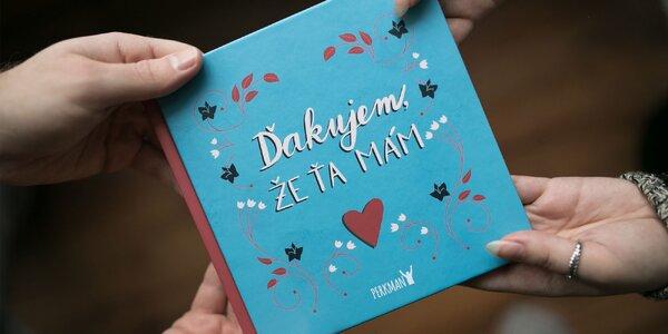 Valentínsky darček: kniha Ďakujem, že Ťa mám!