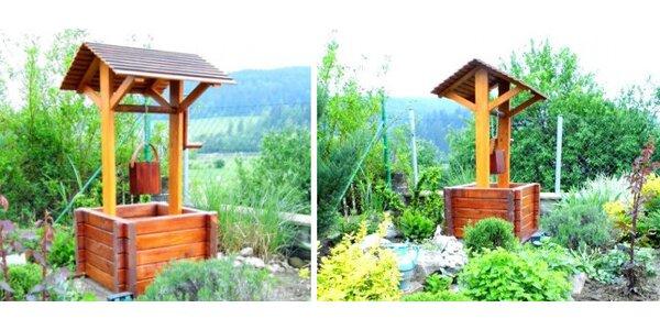 Záhradný nábytok za mimoriadne ceny! Okrasná studňa len za 99 €