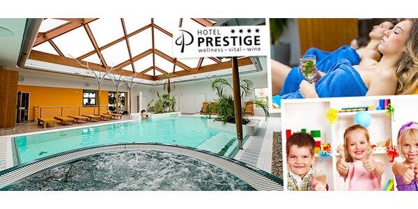 Luxus v hoteli Prestige**** Znojmo
