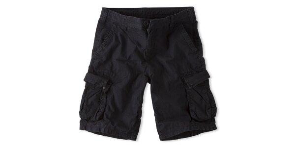 Pánske čierne šortky Brunotti