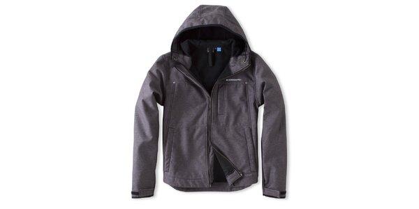 Pánska šedo-čierna bunda Brunotti