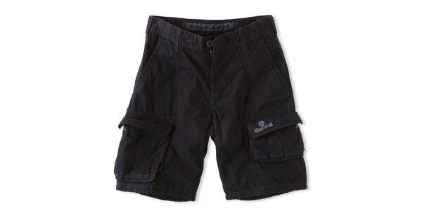 Pánske čierne šortky s vreckami Brunotti