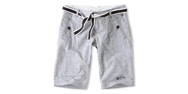 Dámske hnedo-biele šortky Brunotti