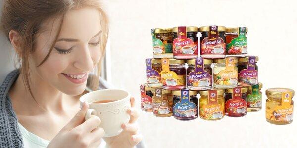 Balenia pečených čajov plné zdravia a chuti