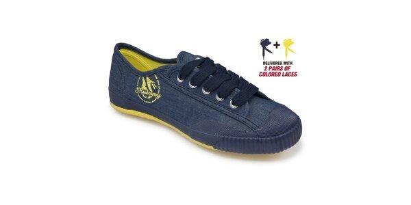 Modro-žlté tenisky Shulong