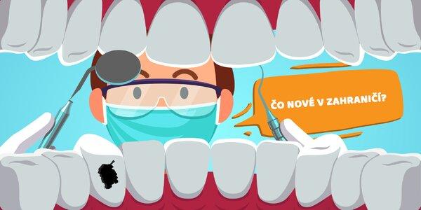 Oprava zubov bez ohľadu na región