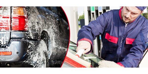 Umytie auta, tepovanie, vyleštenie